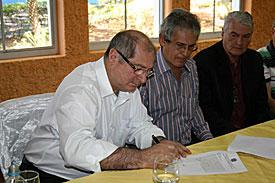 Ministro Paulo Bernardo entrega bens da RFFSA para prefeitura